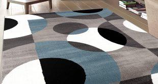 modern area rugs amazon.com: rugshop modern circles area rug, 5u0027 3 XEGDPDC