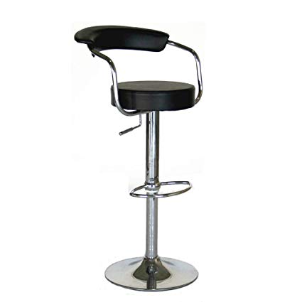 modern contemporary adjustable bar stools, set of 2 KPNIKNR