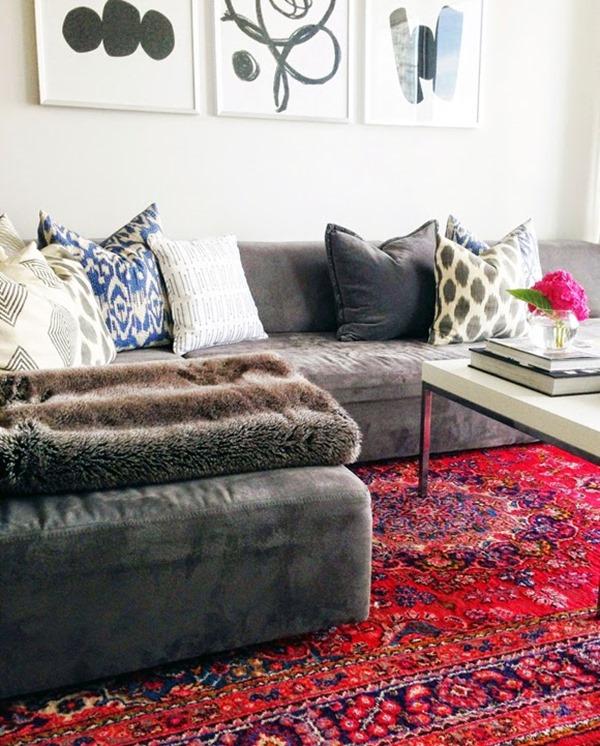 modern persian rugs living-room-persian-rug ONRVLAY