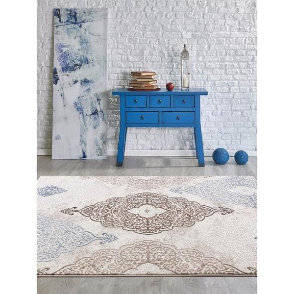modern persian rugs persian rugs modern oriental multicolor with blue area rug - 5u0026#x27 ... IHVEVBZ