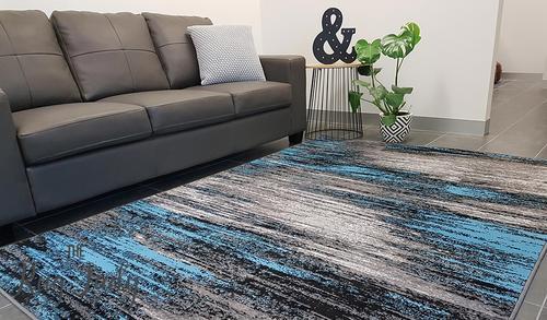 modern rugs style midnight storm blue grey WVDULKT