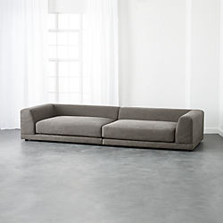 Modern Sectional Sofas uno 2-piece sectional sofa RPGBZVM