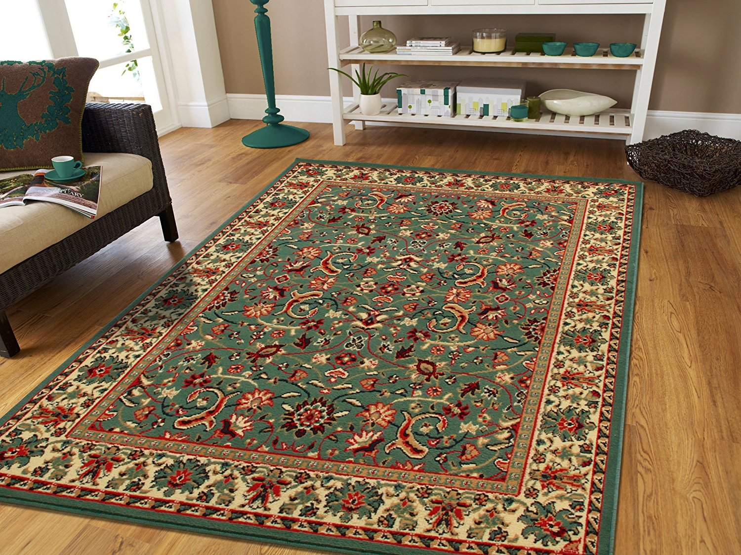 Oriental rugs amazon.com: large oriental rugs 2x3 traditional rugs red cream green persian  rugs KHNZPDE