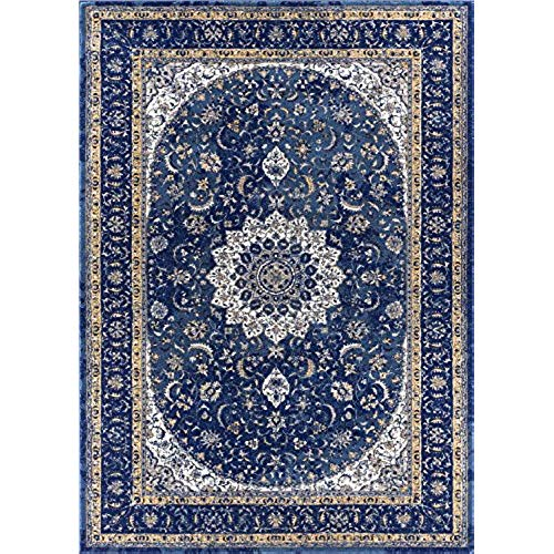Oriental rugs blue oriental rugs: amazon.com PLDYURG
