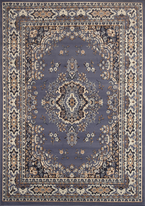 Oriental rugs persian blue area rug 8 x 11 large oriental carpet 69 - actual ZOOMVUE