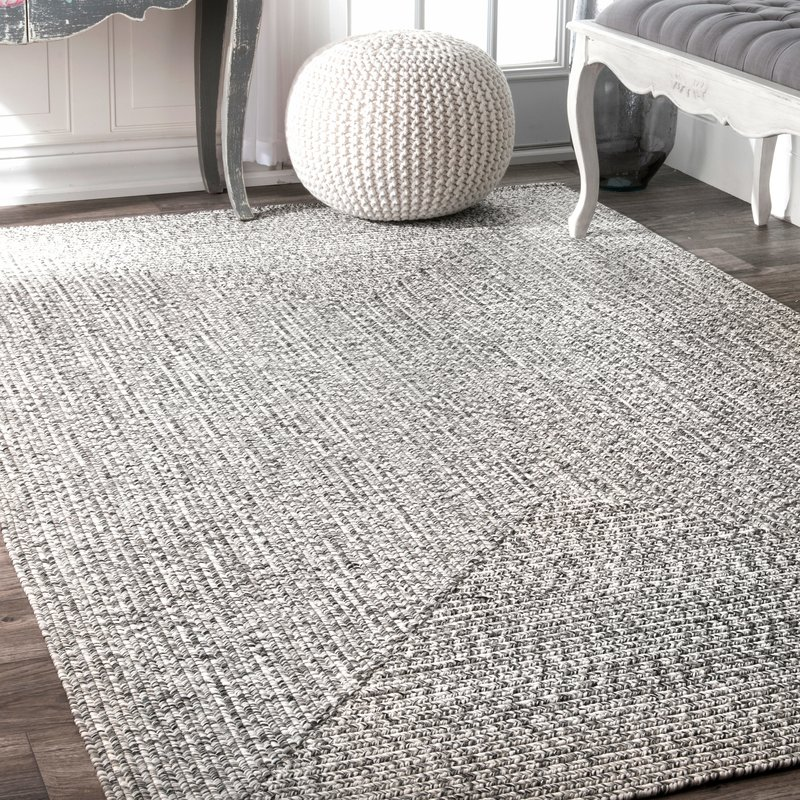 outdoor area rugs kulpmont gray indoor/outdoor area rug AQUYJVS