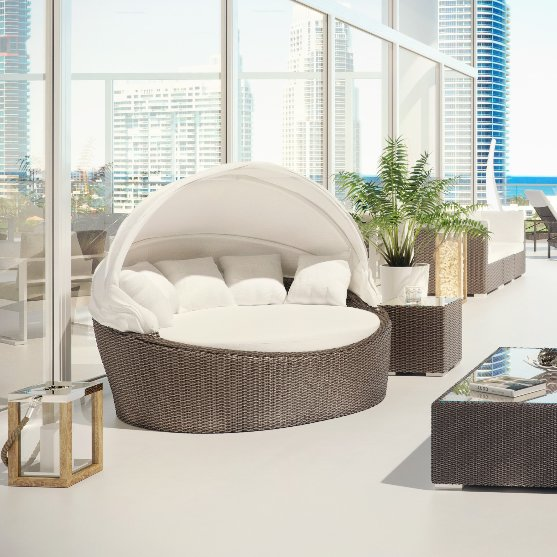 Outdoor Daybed outdoor daybed with cushion MIAHSDT