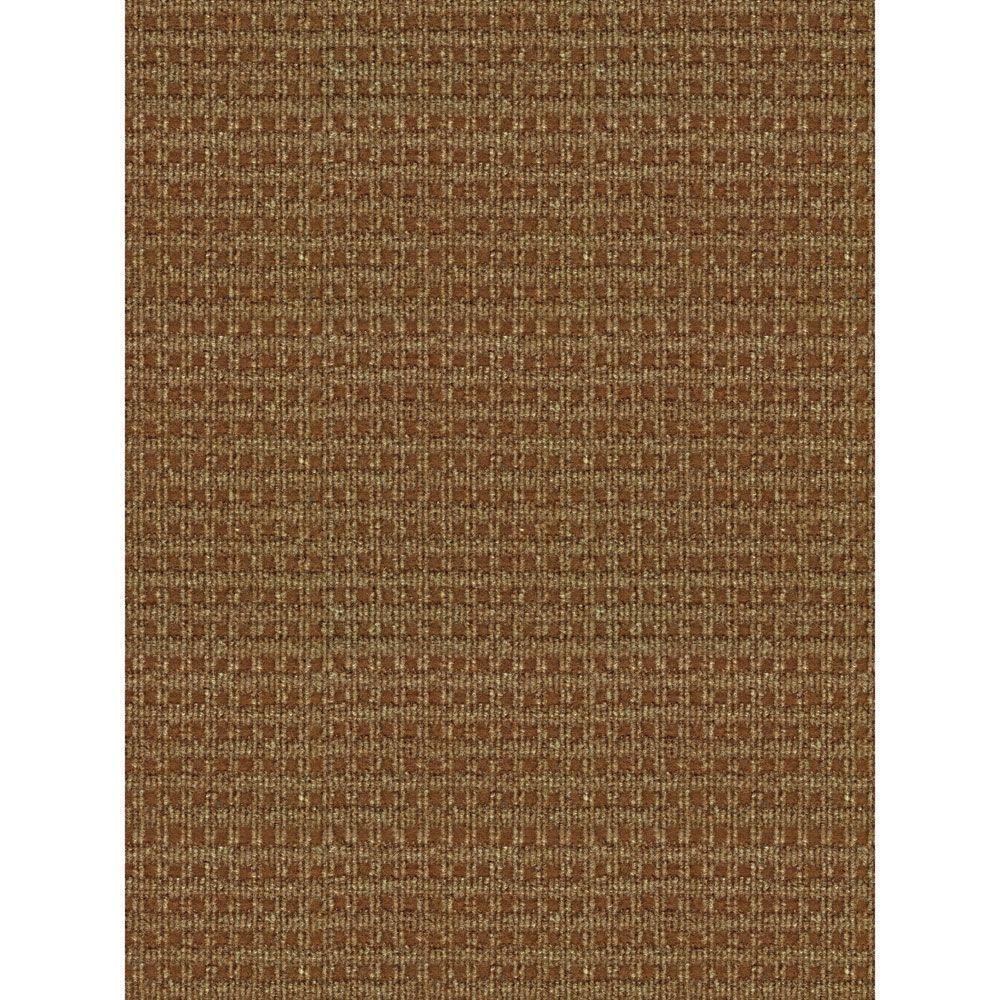 Outdoor rug foss checkmate taupe/walnut 6 ft. x 8 ft. indoor/outdoor area UGJQKTZ