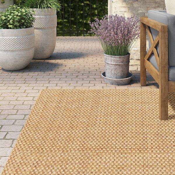 Outdoor rug lark manor orris sand indoor/outdoor area rug u0026 reviews | wayfair BMZWHUI