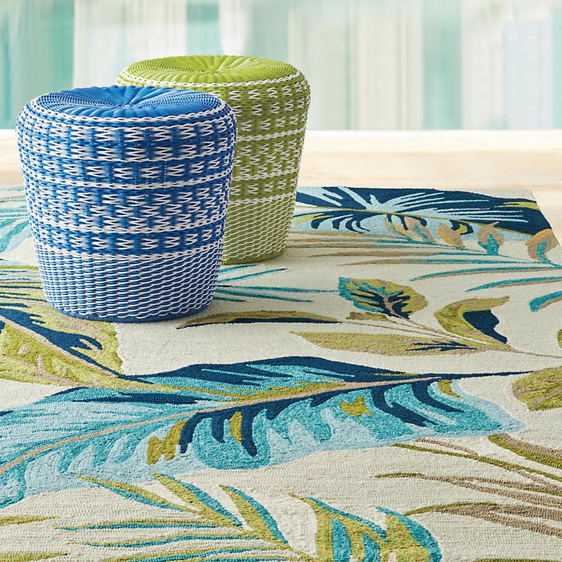 Outdoor rug tropical palm tree indoor/outdoor rug TSIDNXE