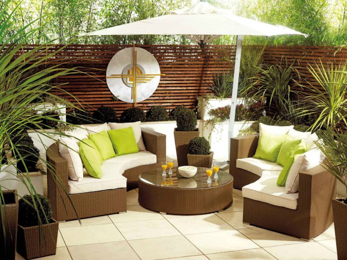 Outdoor Settings comfortable and relaxing outdoor settings - carehomedecor INFIMVY