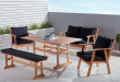 Outdoor Settings princeton 5 piece low dining setting opri5plowk 1 RLTXVNC