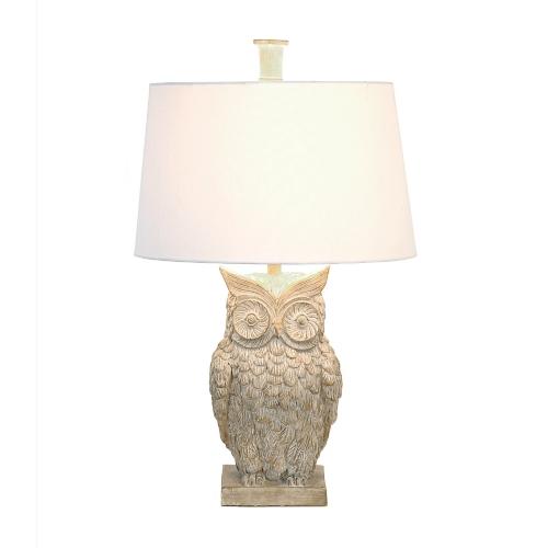 Owl Lamp ambherest owl table lamp | kirklands UMMVGOI