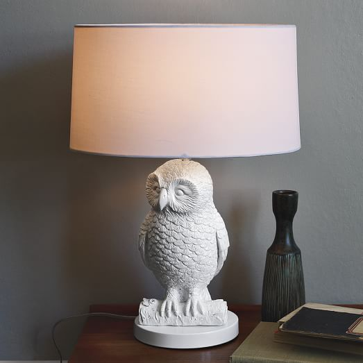 Why You Need an Owl Lamp at Your Bedside