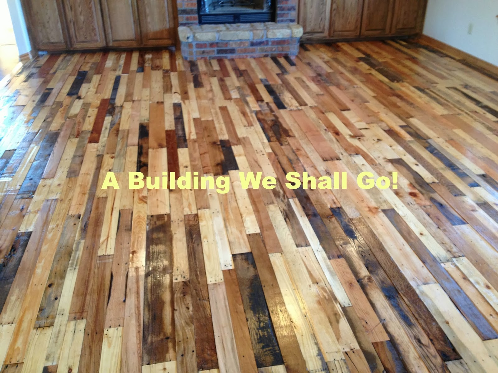 pallet wood floor the art of pallet wood flooring VYQIILP