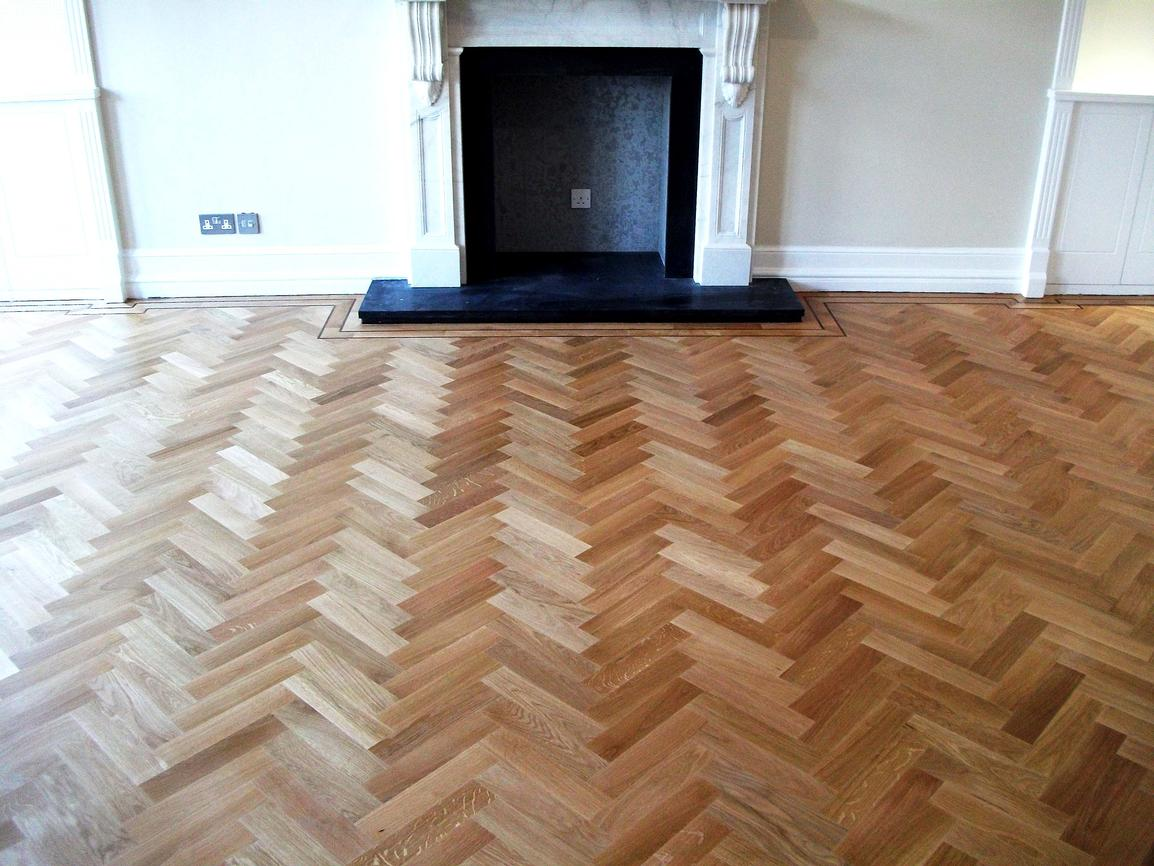 parquet floor istoria solid parquet oak herringbone wood floor with double wenge border RUMCHEH