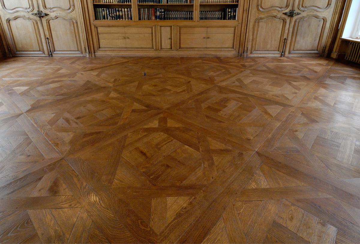 parquet floor parquet floors du0027aremberg panel pattern BIOIZNV