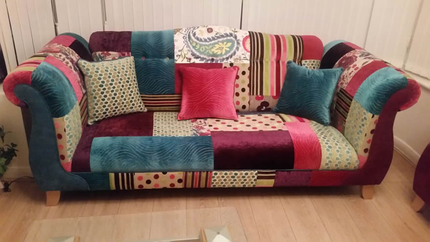 Patchwork Sofa patchwork sofa VTLOJRP