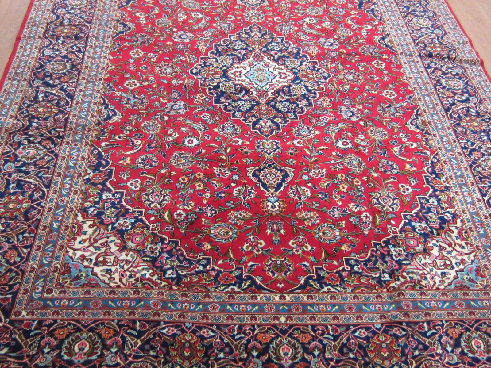 persian rugs semi-antique kashan persian carpet HSQLAKI