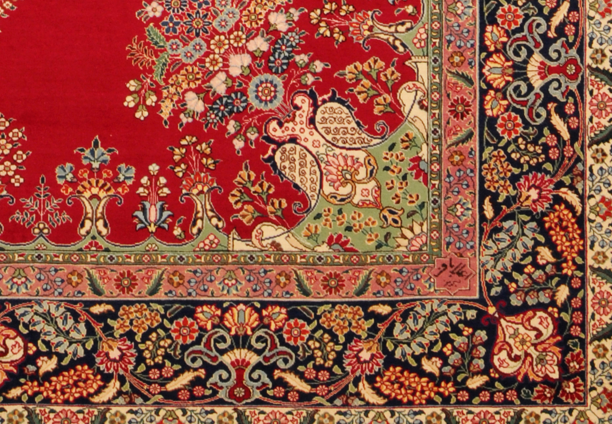 persian rugs signature of alabaph UQAHWGN