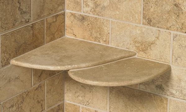 quality shower shelves for your bathroom decor KXQDVXB