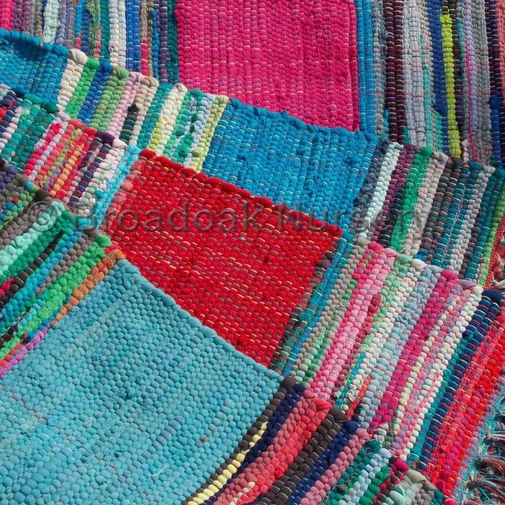 rag rugs fair trade indian rag rug 3u0027x5u0027 mexican style - recycled, 100% IBBVMIC