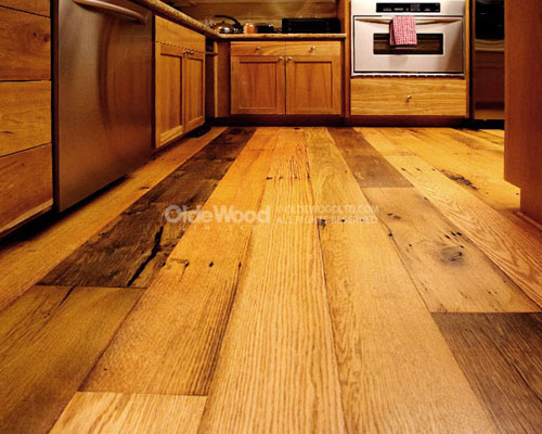 Why should you go in for reclaimed wood floors?