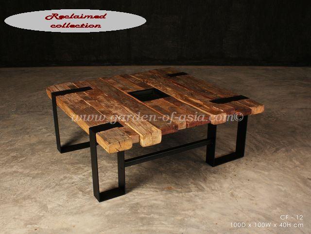 reclaimed wood furniture OQGZIFL
