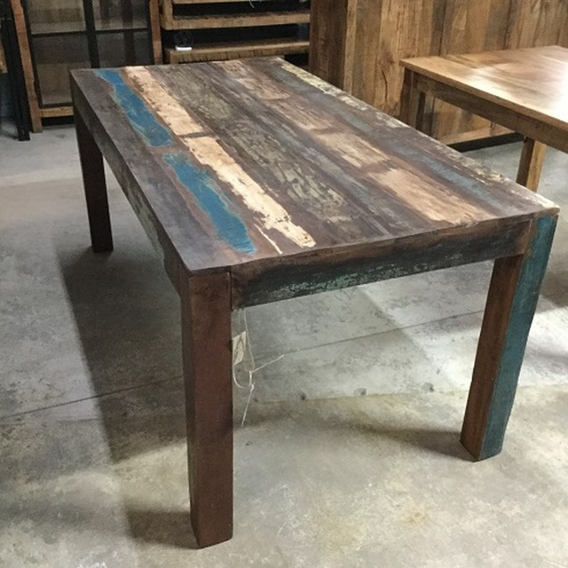 reclaimed wood furniture reclaimed wood dining table LVNDGVN