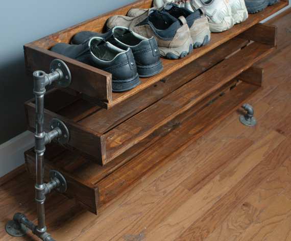 reclaimed wood furniture reclaimed wood shoe rack available via reformedwood YZAKGTX