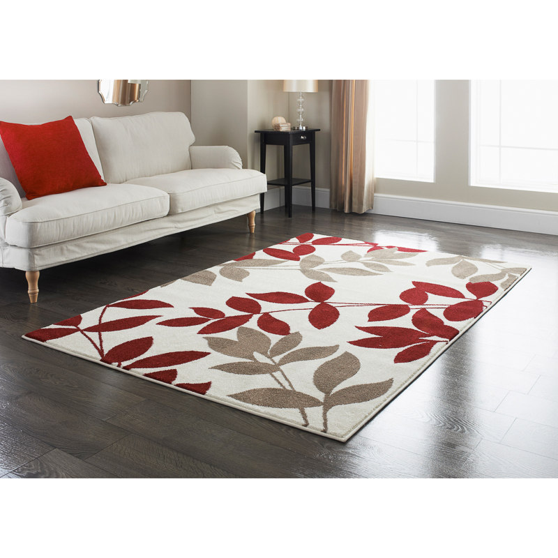 Red rugs 310852-310853-rainforest-red-rug XCQMOAM