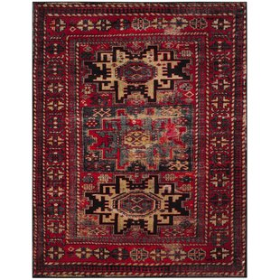 Red rugs parthenia red area rug ASDJJQA