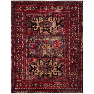 Red rugs parthenia red area rug ASDJJQA