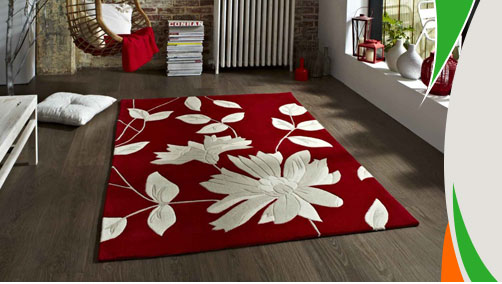 Red rugs in your room