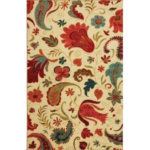 Red rugs virginia beige/red area rug KJBEVUQ