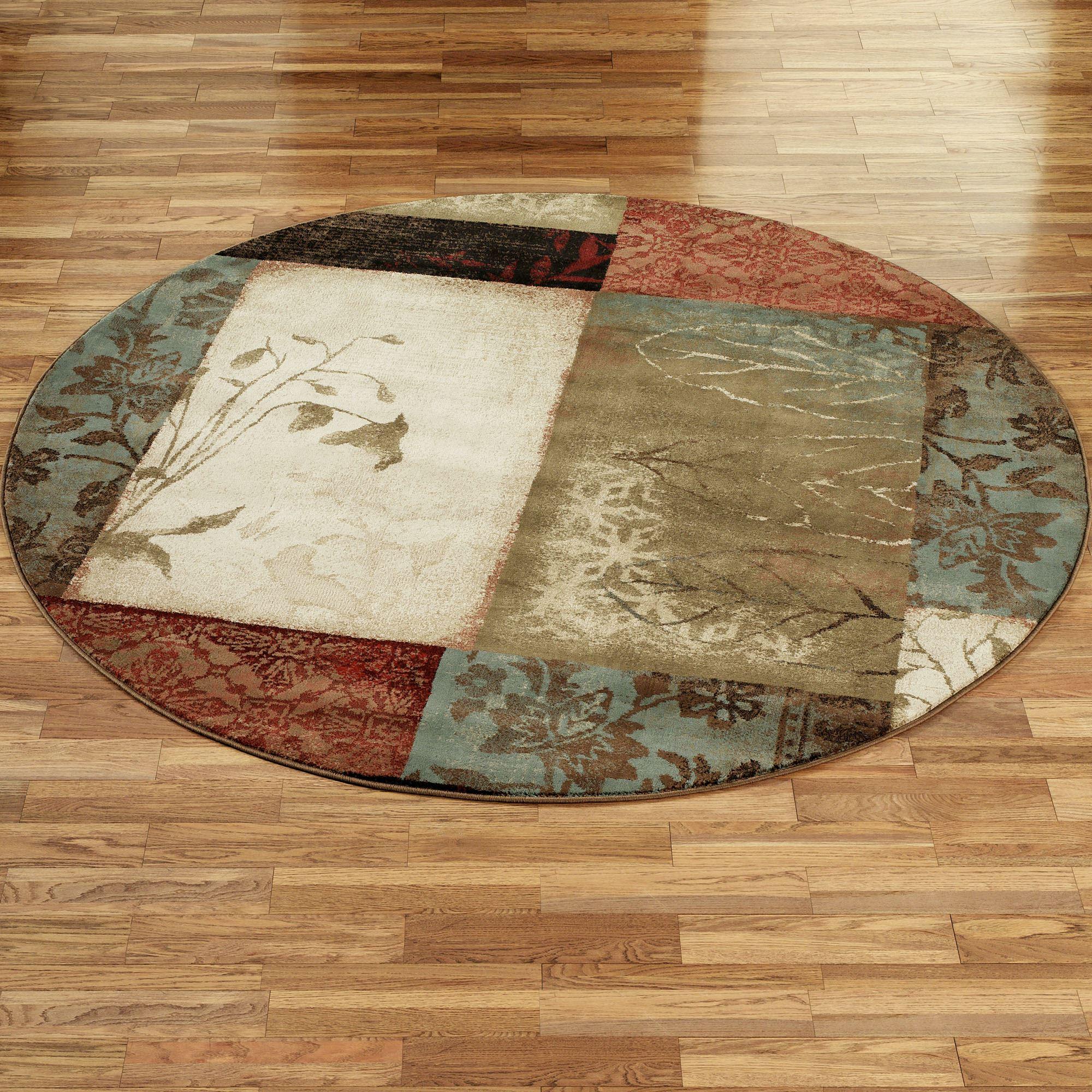 round area rugs impression leaf round rug AIZCXBR