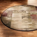 What are round area rugs?