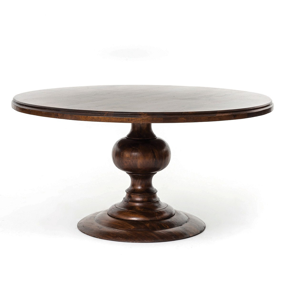 Round Pedestal Dining Table 60 NSWZCLK