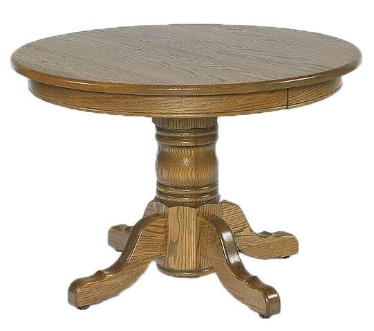 Round Pedestal Dining Table amish 36 TDATFZO