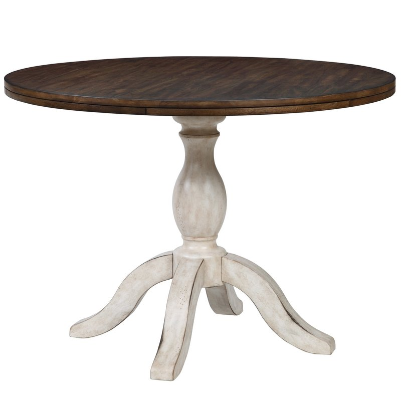 Round Pedestal Dining Table orleans round pedestal dining table ECXJALY