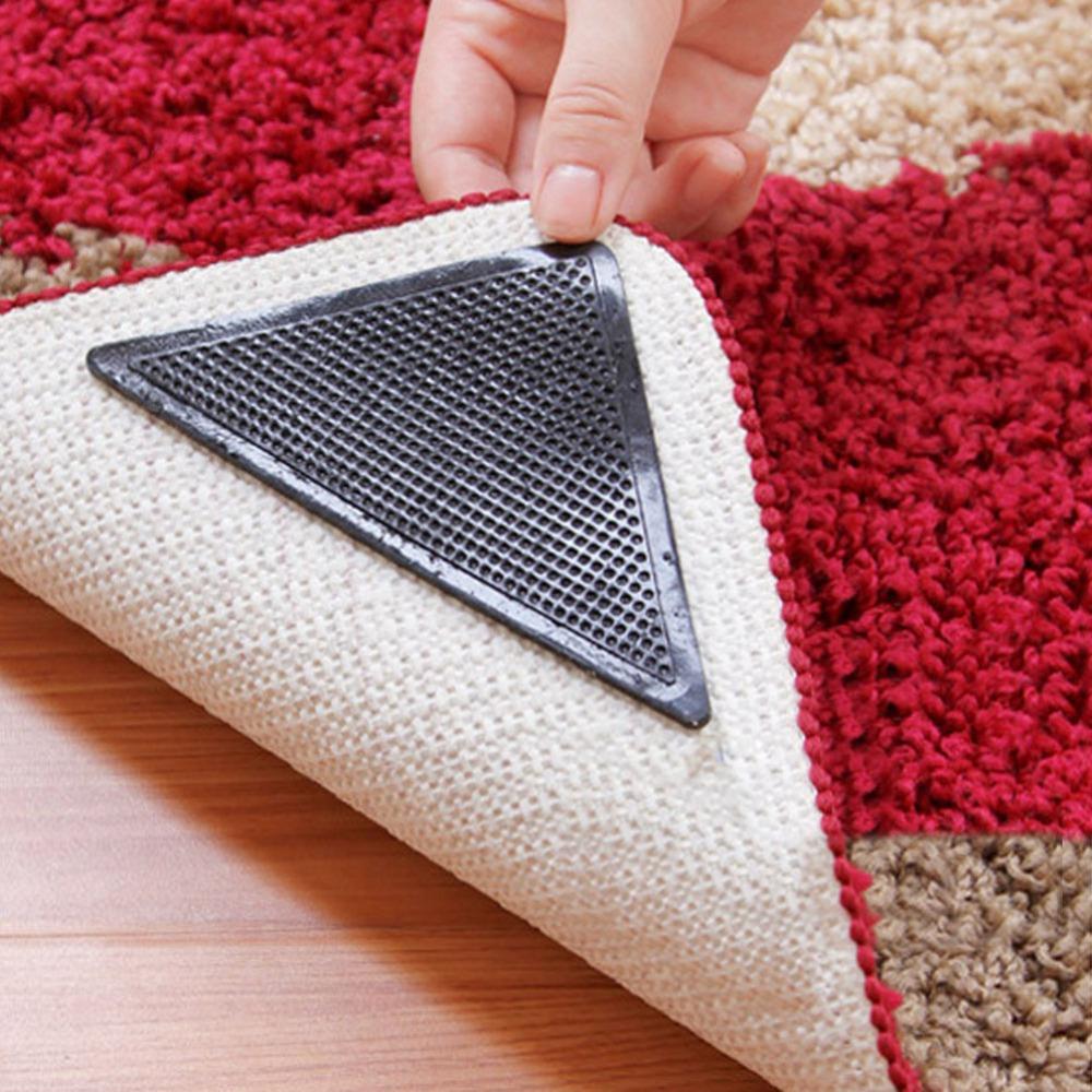 rug pad for carpet hot 8 pcs non slip rug grips pu mats slip pad reusable washable EGIPJYD