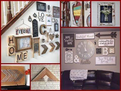 rustic wall decor 30 diy rustic wall art ideas - diy rustic room decor BTYFBHO