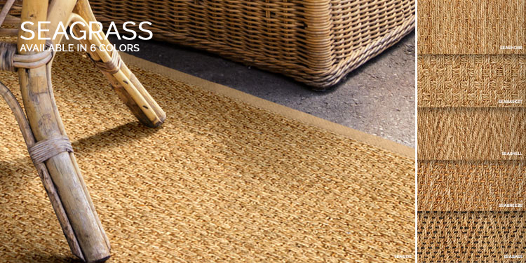 seagrass carpets grass area rugs - shop by color u0026 style | sisal rugs direct WMBSOBX