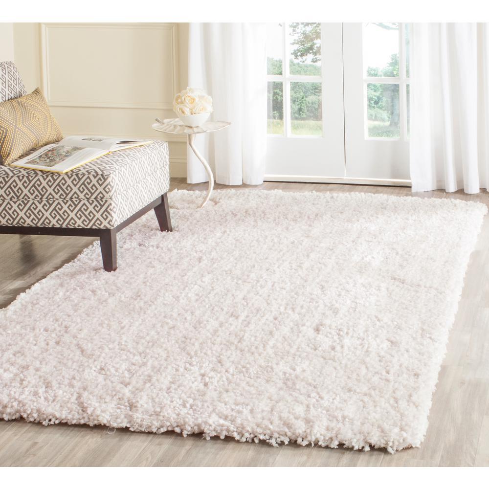 shag rugs safavieh popcorn shag ivory 3 ft. x 5 ft. area rug QIYBRHZ