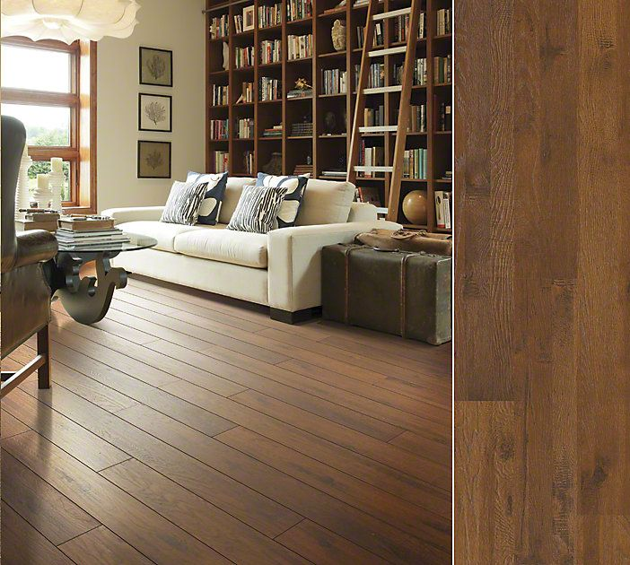 shaw flooring shaw floors laminate in a time-worn hickory visual. style riverdale hickory  color POSJYSR