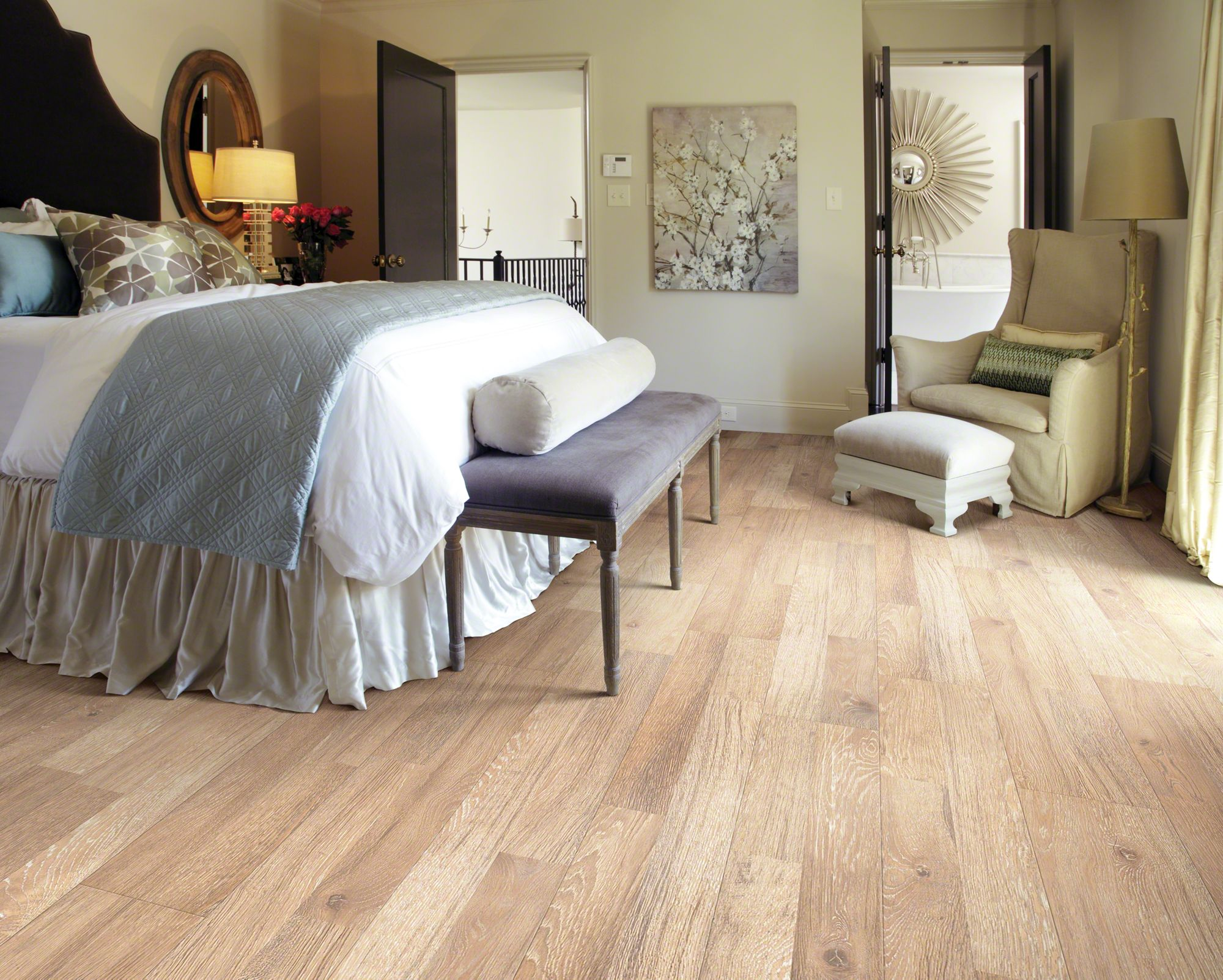 shaw laminate flooring reclaimed collection - room OPYEGQJ