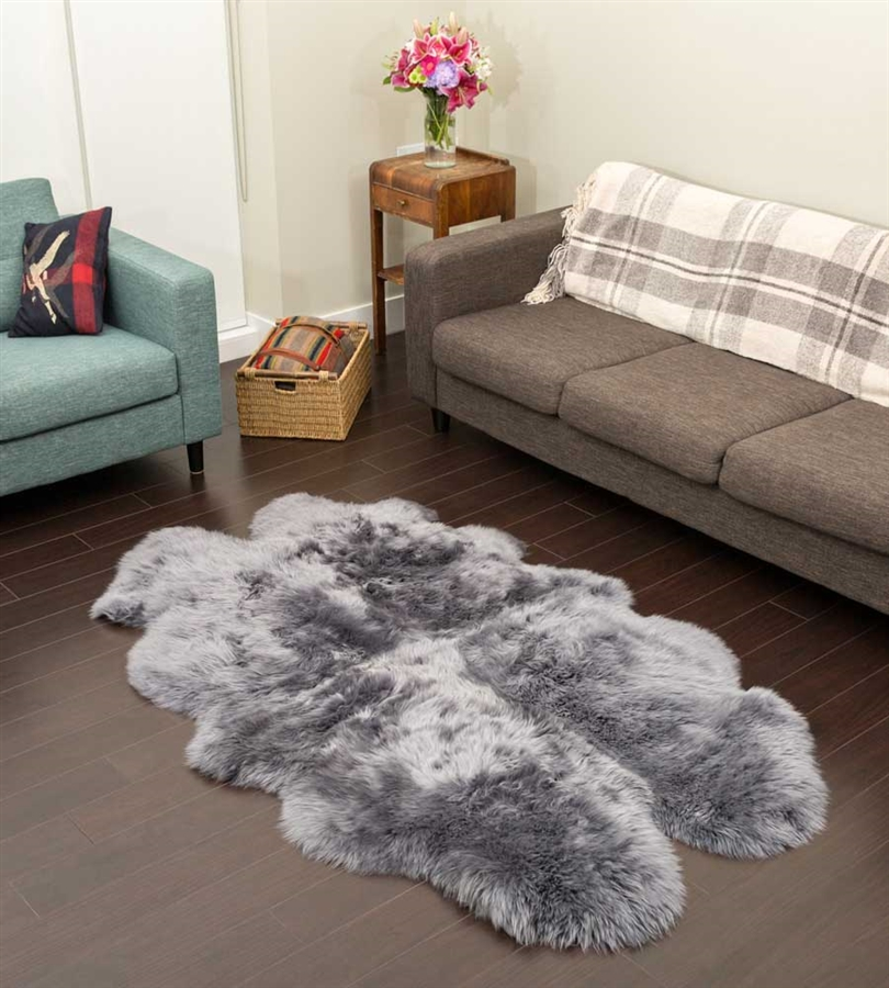 Sheepkin rugs larger photo email a friend RLJVZUI