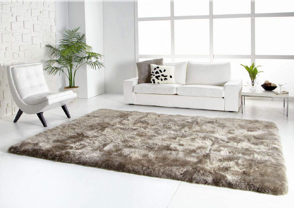Sheepkin rugs long wool straight edge sheepskin rug XTPEAXV