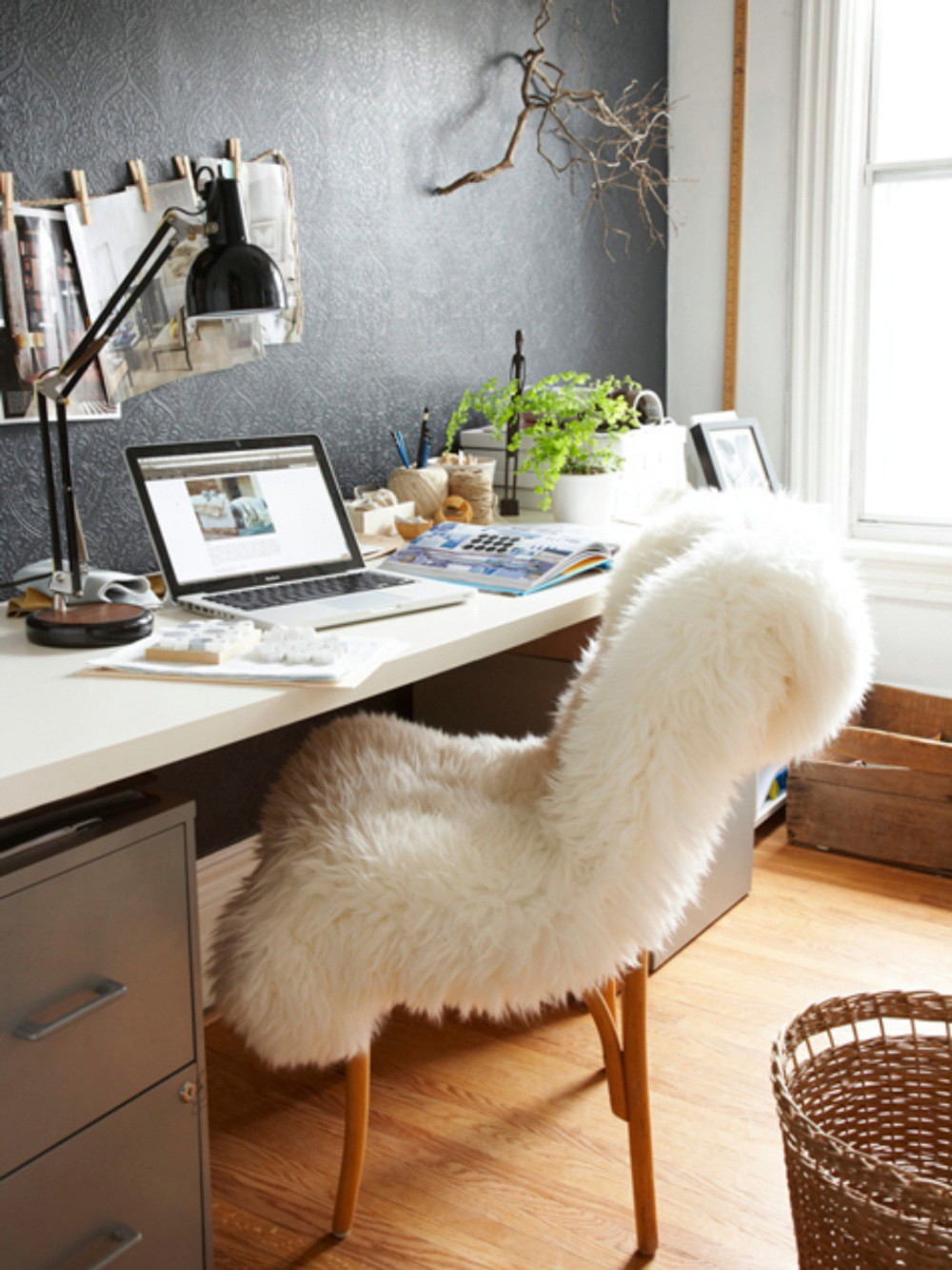 sheepskin rug ideas sheepskin rug office chair IRSMXKG