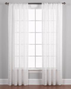 Sheer Curtain easton semi sheer panel pairs and valance QKLZROT
